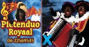 Duo Royaal Sinterklaas LXeventsupport muziek sinterklaasfeest