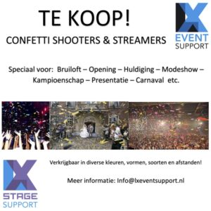 Confettishooters&streamers