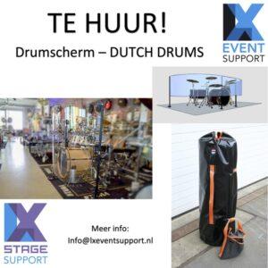 DUTCH DRUMS - Drumscherm